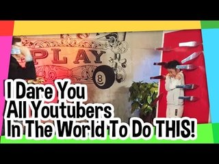 I Dare You all Youtubers in the World to do THIS! (Dont try This without Professional Knowledge!)