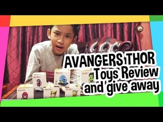 AVENGERS THOR Toys review and give away!