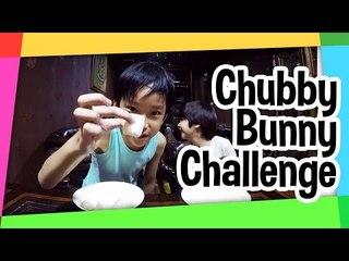 Chubby Bunny Challenge Azka and Ryan