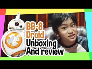 BB-8 droid Unboxing and Review