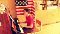 Boy singing Paparazzi by Lady Gaga