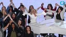 Lady Gaga Honors Sexual Assault Victims At 2016 Oscars