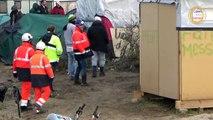 Dismantling of Calais 'Jungle' Camp Begins