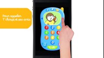La nouvelle appli -  T'choupi joue avec le téléphone  T'choupi et DouDou