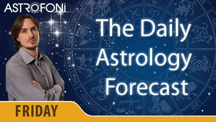 The Daily Astrology Forecast with Boaz Fyler for 26 Feb 2016