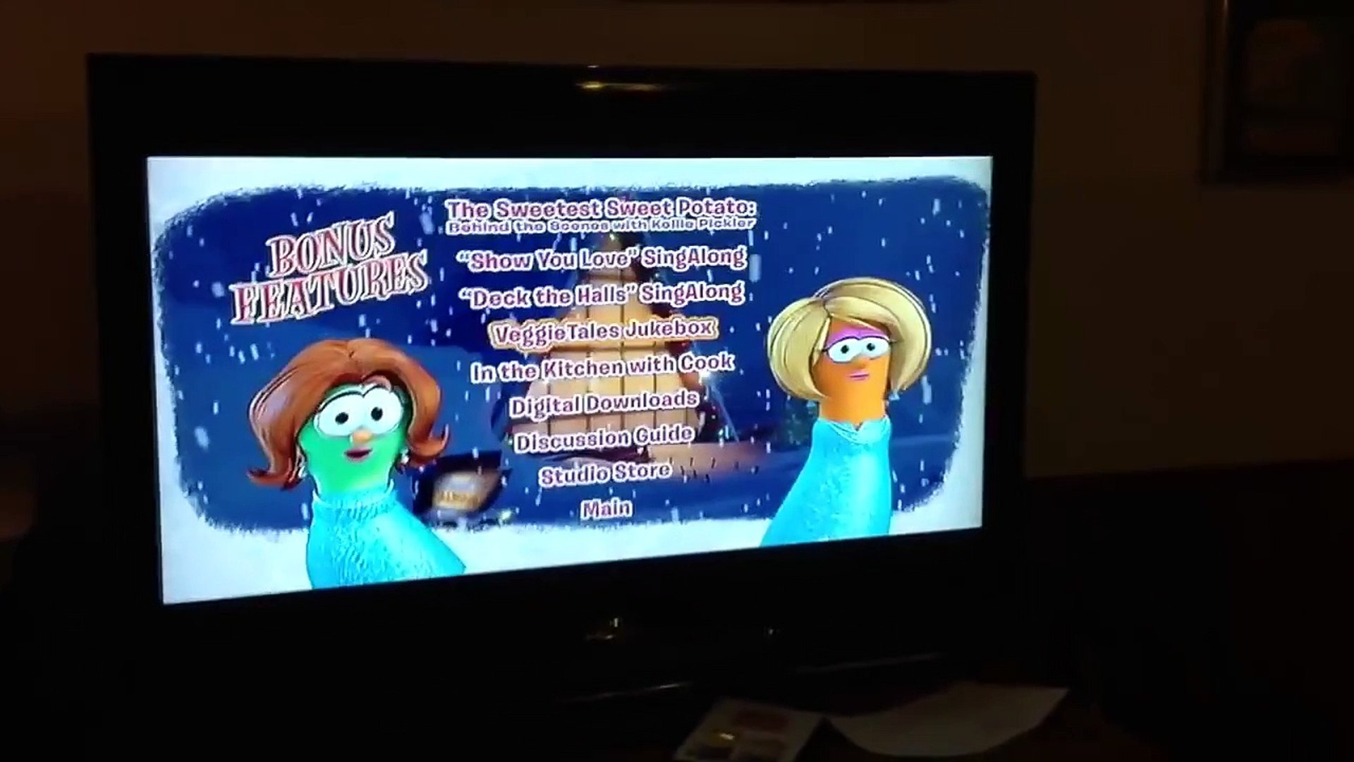 VeggieTales: Beauty & The Beet 2014 DVD Menu Walkthrough