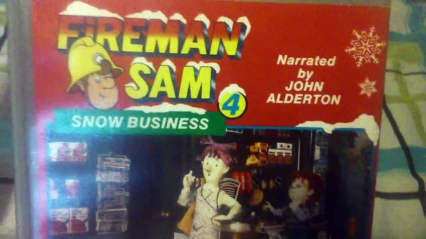 Fireman Sam 4 Snow Business UK Retail VHS Release | Godialy.com