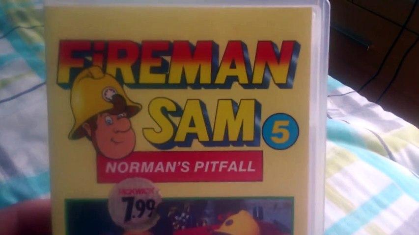 Fireman Sam 5 Normans Pitfall UK Retail VHS Release | Godialy.com
