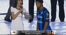 Presentation Of Ronaldinho by Querétaro FC