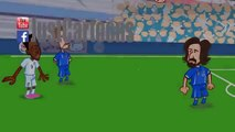 Video Italia Inghilterra in 19 secondi: ecco il divertentissimo cartone animato di JustCar