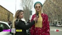 LUDOVICA PAGANI | FASHION KILLER 2 Street Interviews MFW Fall 2016 by Fashion Channel