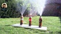 Cola mit Mentos... Ein paar sekunden Spa, drei Cola im Test mit Mentos Deutsch Full HD