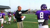 2014 Mount Union Football Camp Video Jonathan Gonell