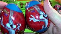 Looney Tunes Bugs Bunny Daffy Duck Tasmanian Devil Warner Brothers surprise eggs ルーニーテューンズバグバニーダフィー