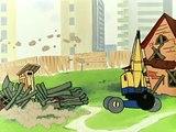 Советский мультфильм Ну, погоди! Выпуск 10 - На стройке