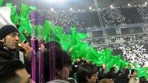 Juventus Celtic 2 0 (lettura formazione Juve e inno) Splendida coreografia allo Juventus S