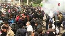 Migrants : des incidents ont éclaté à la frontière entre la Grèce et la Macédoine