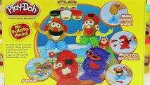 Play Doh Mr. Potato Head Playset Build Your Own Play Dough Mr. & Mrs. Potato Heads!