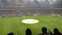 Fenerbahçe Beşiktaş Maçı 2-0 Taraftar Tezahüratları 29.02.2016 Süper Lig FB BJK maçı