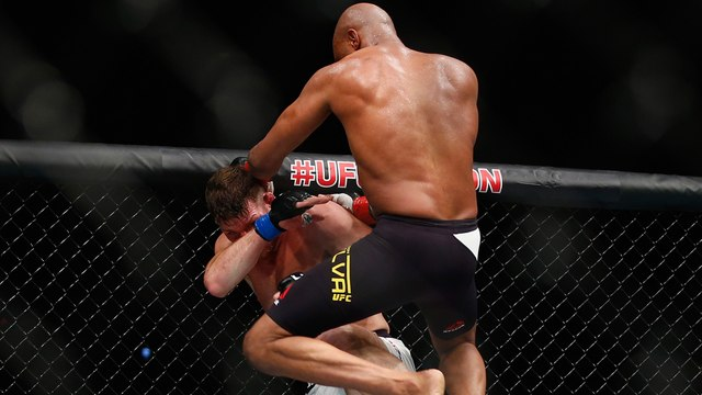 Anderson Silva vs Michael Bisping Highlights