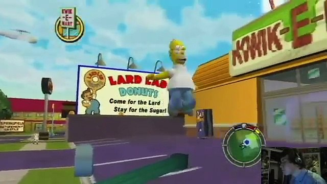 THE GREATEST SIMPSONS GAME EVER MADE!: Simpsons Hit And Run Part 1