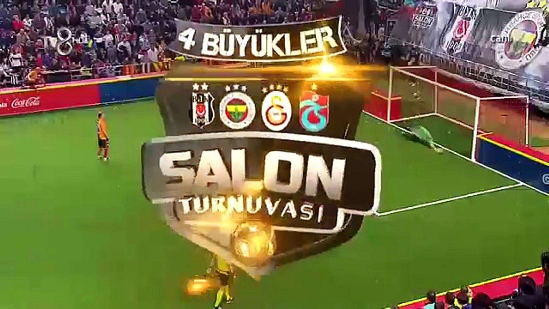 Tv8 Salon Turnuvası Galatasaray - Beşiktaş Güzel Hareketler