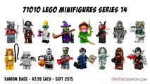 Lego Minifigures Series 14 Halloween Monsters 71010 Stop Motion Review