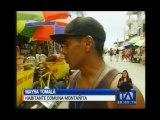 Turistas abandonan la comuna de Montañita