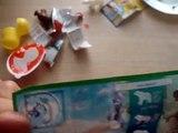 2 Kinder Surprise Maxi Eggs Unboxing Christmas Toys Kinder Santa Disney Pixar Cars McQueen