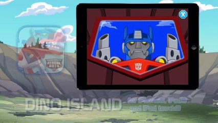 Transformers: Rescue Bots - Dino Island A Storybook Adventure from PlayDate Digital