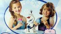 Disneys Frozen Olaf Snow Cone Maker | Easy DIY Strawberry & Raspberry Snow Cones!