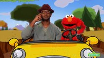 ₯ Sesame Street: Elmo and Taye Diggs Go for a Drive ᵺ