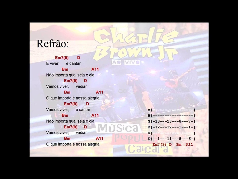 Charlie Brown Jr - Céu azul (Cifra e Tablatura)