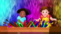 Color Songs Collection ¦ Learn, Teach Colours to Toddlers ¦ Preschool Kids Nursery Rhymes by 3D Kids Rhymes