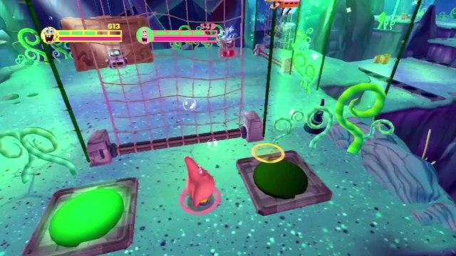 Spongebob Squarepants Game Full Episodes 4 - Planktons Robotic Revenge Rock Bottom