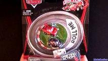 Micro Drifters CARS 2 Lightning McQueen, Shu Todoroki Using Super Speedway Track Screaming Banshee