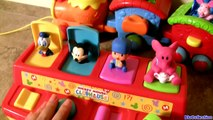 Disney Baby Winnie the Pooh Pop-up Surprise Train Toy - Choo Choo with Tigger Piglet Pooh Unboxing