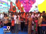 33 feet tall Rudraksha Shivling made entry in Limca Book of records, Gir-Somnath - Tv9