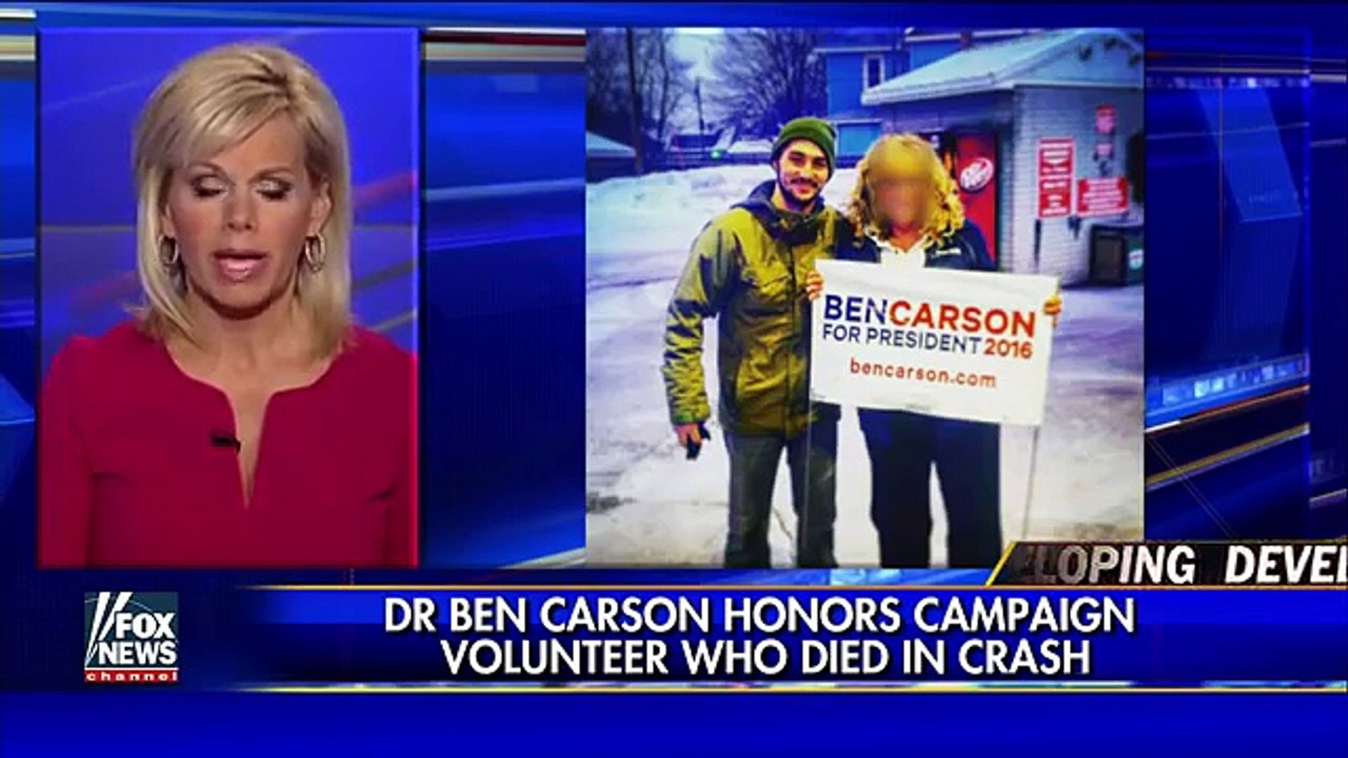 Dr. Ben Carson honors campaign volunteer who died in crash