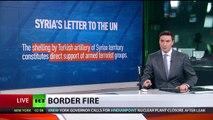 Syrien legt Beschwerde bei der UN gegen Türkei ein wegen Beschuss von Regierungstruppen und Kurden