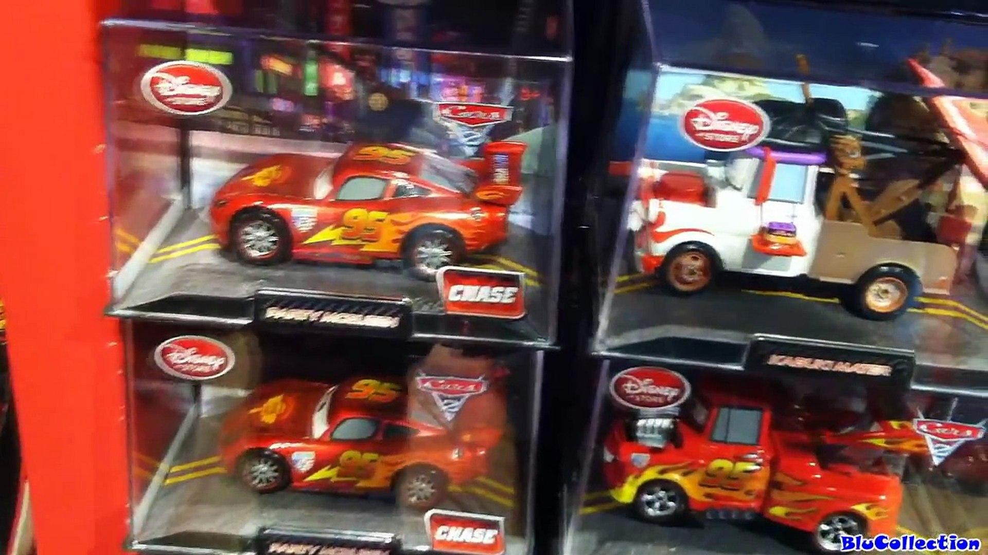 Cars 2 Kabuki Mater Chase Stealth Finn Mcmissile, Metallic Party Lightning Mcqueen Disney Pixar toys
