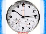 Hama CWA200 Plata Blanco Mignon AA 312 g 150 mm 150 mm 38 mm - Reloj de pared