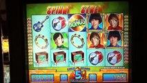 THE MONKEES Penny Video Slot Machine with BONUS RETRIGGERED and a BIG WIN Las Vegas casino