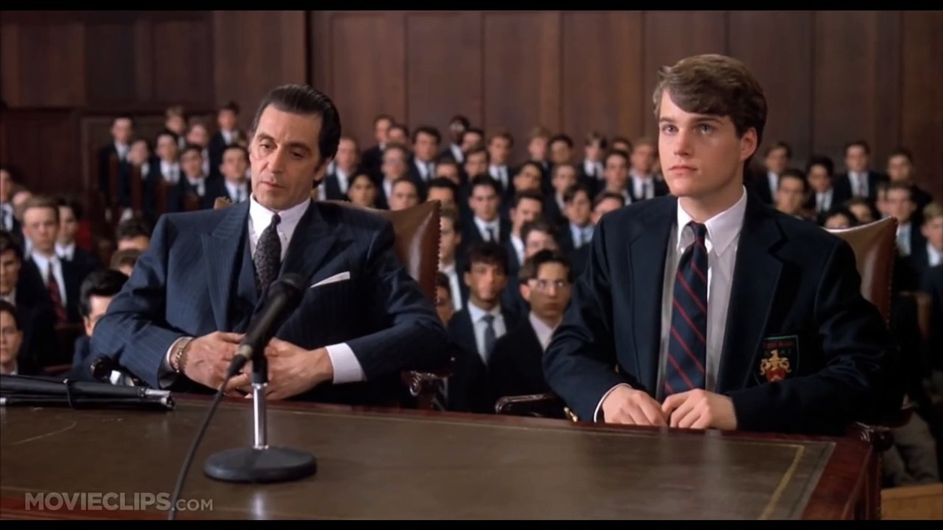 Frank Defends Charlie In Court Scent Of A Woman 8 8 Movie Clip 1992 Hd Video Dailymotion