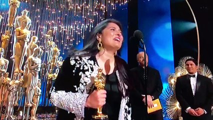 """Sharmeen Obaid Chinoy winning another Oscar Award for """"A Girl in the river!"""""""