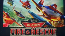 Disney Planes 2 Fire Rescue Flying Dusty Crophopper and Supercharged Dusty Gliders