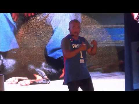 Cesar Millan live in Manila