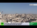 Aleppo's countless frontlines: Exclusive report from divided Syrian city