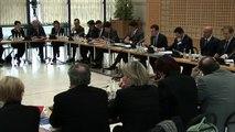Archive - Emmanuel Macron réunit les parlementaires sur l'application de la loi pour la croissance