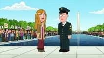 Family Guy Season 12 Episode 3 Forrest Gump Scene